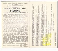 DP Georgine Virginie A Déchêne ° Hébertville Quebec CAN 1870 † Ieper BEL 1947 X Oscar Danneels / Salence Lengelé Moyaert - Images Religieuses