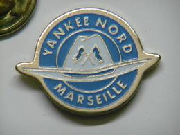 Pin's YANKEE NORD MARSEILLE - Football