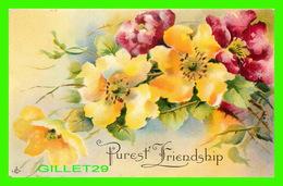 FLEURS, FLOWERS - PUREST FRIENDSHIP - TRAVEL - - Fleurs