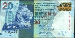 HONG KONG - 20 Dollars 01.01.2012 {H.S.B.C.} UNC P.212 B - Hong Kong