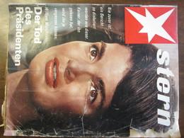 MAGAZINE STERN JANUAR 1967  N 4 JACKY KENNEDY DER TOD DES PRASIDENTEN - Voyage & Divertissement