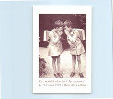 14 BRETTEVILLE Sur Odon - Enfants - Cartables - 3ème Salon Des Collectionneurs 1996 - France