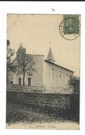CPA 42  Riorges église écrite 1921 TBE 914 - Riorges