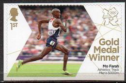 GREAT BRITAIN 2012 Olympic Games Gold Medal Winners: Mo Farah - Neufs