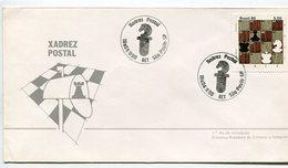 XANDREZ POSTAL BRASIL CIRCA 1980, AJEDREZ CHESS, SOBRE ENVELOPE FDC - LILHU - Ajedrez