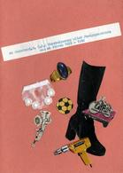 Amusant Grand Programme De Ventes Originale & Flyer Collage Et Programme De 1980 En DDR - Programas