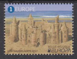 BE 2017- 4707 XX - EUROPA Le Château Belge - Le Château De Sable - Belgique