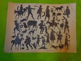 Affiche  Portraits Et Caricatures Jean De Bonnot -images A Decouper - Posters