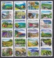 Série Complète 2009 Flores Des Régions Du Nord Et Du Sud N° 291 à 314. - France