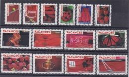 Série Complète 2009 Vacances N° 315 à 328. - France