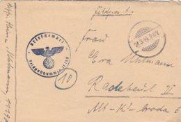German Feldpost WW2: From Romania - 2. Kompanie Panzer-Aufklarungs-Abteilung Gross-Deutschland FP 11190 - Militaria