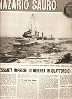 (pagine-pages)NAZARIO SAURO  Candido1958/46. - Libri, Riviste, Fumetti