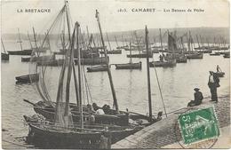 29 - CAMARET - Les Bateaux De Pêche. Animée, Circulé En 1909. - Camaret-sur-Mer