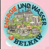 Sticker - ENERGIE UND WASSER - BELKAW - Autocollants