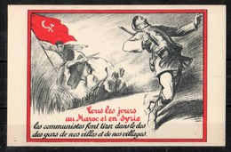 CP Anticommuniste Maroc Syrie - Syndicats