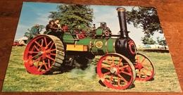 Wallis & Steevens Traction Engine 7666 ~ Built 1920. Reg. No. B. L. 8289 - Postcards