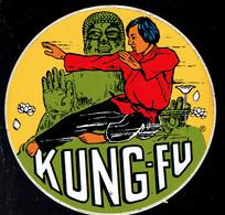 Sticker - KUNG-FU - Autocollants