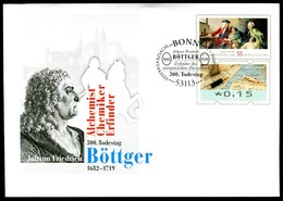 41358) BRD - USo ? - OO EVST 53113 BONN - 15 Unter 55C        Böttger, Ausg.: 01.03.2019 - [7] Federal Republic