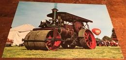 Burrell Steam Roller 4041 ~ Built 1926. Reg. No. U.O. 793 - Cartoline
