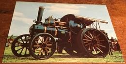 Fowler Class TE2 7N. H.P. General Haulage Engine No. 14910. 'Rising Star' ~ Built 1917 - Postcards