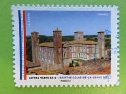 Timbre France YT 1207 AA - Mairies De France - Saint-Nicolas-De-La-Grave (82) - 2015 - Adhésifs (autocollants)
