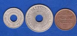Palestine  3  Pieces - Coins