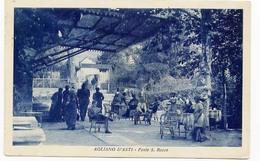AGLIANO D'ASTI-FONTE SAN ROCCO VIAGGIATA 1939- - Asti