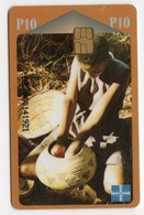 BOTSWANA REF MV CARDS BOT-07 P10 BASKET MAKING - Botswana