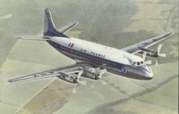 "CPSM - VICKERS ""VISCOUNT"" - AIR FRANCE - Edition Déchaux - 1946-....: Modern Era"