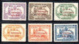 Y2208 - HONDURAS 1951 , Posta Aerea Serie N. 181/186  ***  MNH 75° ONU - Honduras