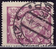 Czechoslovakia, 1923, Agriculture And Science, 300h, Sc#94, Used - Czechoslovakia