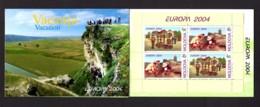 EUROPA 2004 - MOLDAVIE - CARNET Yvert C422 - NEUF** MNH - Europa, Les Vacances - 2004