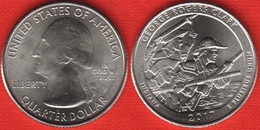 "USA Quarter (1/4 Dollar) 2017 P Mint ""George Rogers Clark, Indiana"" UNC - 2010-...: National Parks"