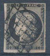 N°3  NUANCE ET OBLITERATION. - 1849-1850 Ceres