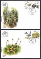 Serbia 2019 Flora Plants Mushrooms Champignons Pilzen Fungi FDC - Hongos