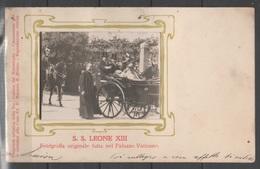 Papa Leone XIII - Cartolina Con Fotografia            (g5523) - Personaggi Storici