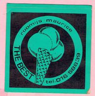Sticker - ROOMIJS MAURICE - THE BEST - Tel.016/58839 - Autocollants