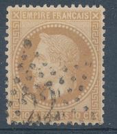N°28 NUANCE OBLITERATION - 1863-1870 Napoléon III Lauré