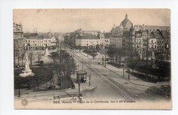 Belgique: Anvers, Antwerpen, Place De La Commune, Vue à Vol D'Oiseau, 1909 (19-415) - Antwerpen
