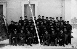 26 ROMANS  / 2 PHOTOS / 1945 / GENDARMERIE / 1er PELOTON DES ÉLÈVES GENDARMES / GENDARME - Romans Sur Isere