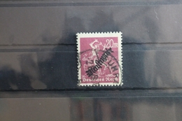 Deutsches Reich Dienstmarke 75 Gestempelt Geprüft Infla Berlin #SN115 - Dienstpost