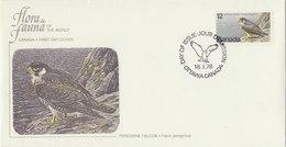 CANADA 1978 Fleetwood Envelope With Peregrine Falcon.bargain.!! - Aigles & Rapaces Diurnes