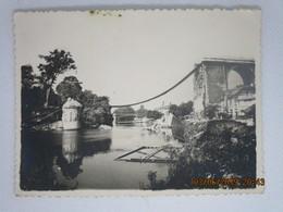 Photographie NOGENT Sur Marne - Le Pont Viaduc Dynamité Par Les Troupes Allemandes Le 25 Aout 1944 - Guerre, Militaire
