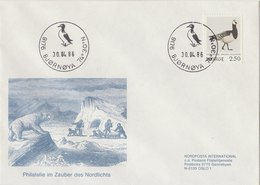 NORWAY 1986 Envelope With Goose SPECIAL ISSUE.BARGAIN.!! - Oies