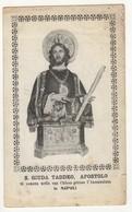 Santino Antico San Giuda Taddeo Apostolo Da Napoli - Religion & Esotericism