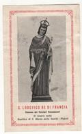 Santino Antico San Lodovico Re Di Francia Da Napoli - Religion & Esotérisme