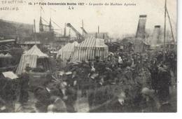 44 - NANTES - T.B. Vue Animée 1ère Foire Commerciale En 1927 - Le Quartier Des Machines Agricoles ) - Tracteur Deering - Nantes