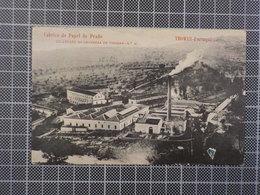 9136) Portugal Tomar Fábrica De Papel Do Prado Ed. Havaneza De Tomar - Santarem