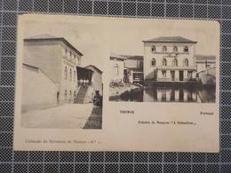 "9137) Portugal Tomar Fábrica De Moagens ""a Nabantina"" Ed. Havaneza De Tomar - Santarem"