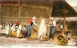 BOSNIE-HERZEGOVINE SARAJEVO MARKTSZENE MARCHE MARKET Bosnia And Herzegovina Photochrome 1900 - Bosnia And Herzegovina